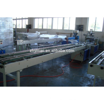 PLASTIC CUP COUNTING AND PACKAGING MACHINE