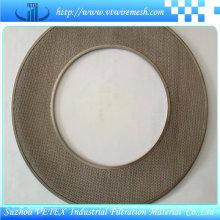 Disco de filtro de alambre bordado
