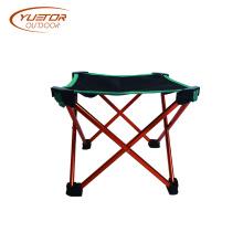 Chaise ultra-légère pliante d'extérieur en aluminium