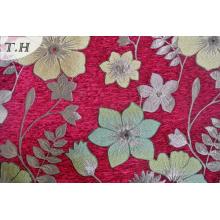 2016 The Brighter Red Chenille Jacquard Sofa Cloth (FTH31795)