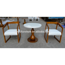 Hotel coffee shop restaurant table and chair set XYN932