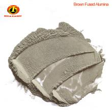 F16 Brown fused alumina oxide for sandblasting
