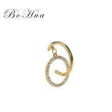 Bohua Jewelry New Style  Fashionable  Handmade Women Gold Korean Earrings