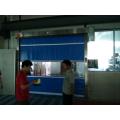 Porta de alta velocidade macia comercial do PVC de Malásia