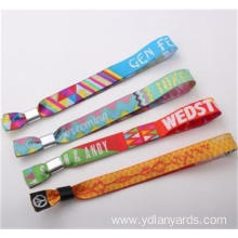Popular Polyester Party Wristband With Custom Logo