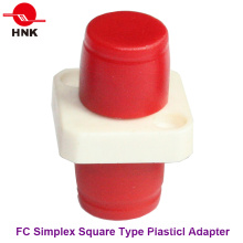 FC Simplex Square Tipo Plástico Fibra Óptica Adaptador