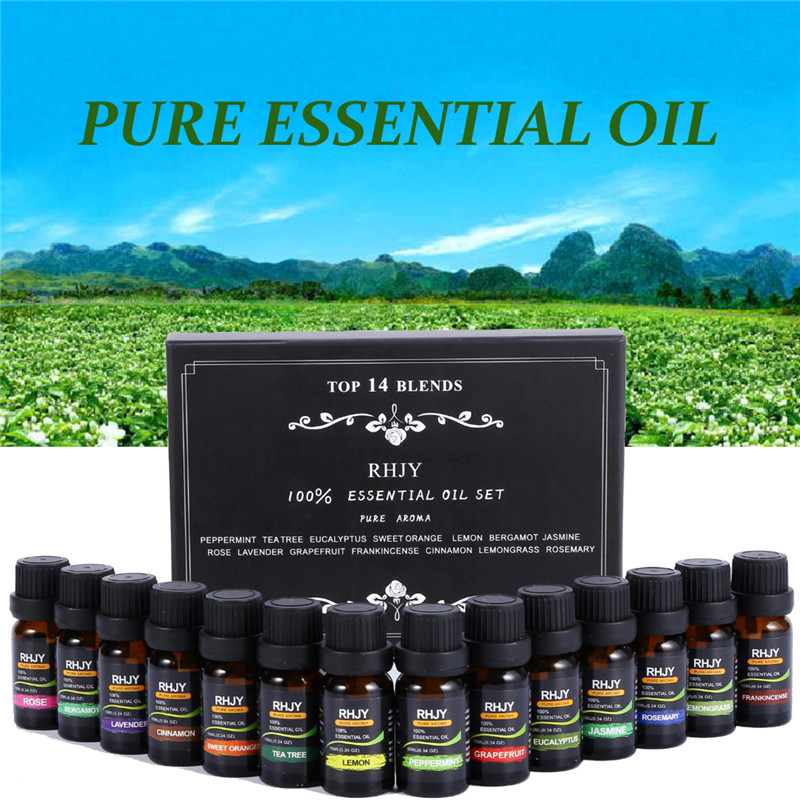 Aromatherapy Essential Oils with Different Scents