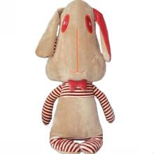 Kundenspezifischer OEM! 30cm gefülltes Spielzeug; Plüschhund mit großem Kopf