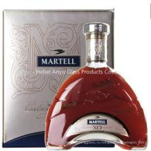 700мл на заказ Винные стеклянные бутылки для водки, текилы, бренди, виски, вина, ром