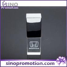Lecteur de stylo OTG en métal transparent de haute qualité 8GB