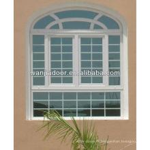 barres de sécurité décoratives pour fenêtres pas cher fenêtre à battants en PVC Guangzhou porte et fenêtre prix usine