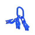 G100 / grade 100 master link assembly with grab hook for adjust chain length
