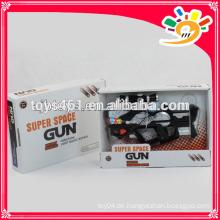 Batterieleistung Pistole Spielzeug Pistole mit Musik und Licht