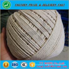 Corde de coton de haute qualité à vendre corde de coton coloré