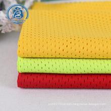 100%  polyester bird eye mesh fabric birds eye pique knitted sportswear fabric  shirt fabric manufacturer