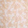 Tissu de robe de mariage tissu de broderie de cordon de fleur