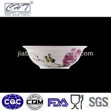 A058 chinese style restaurant porcelain round soup bowl