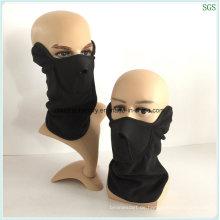 Polar Fleece Staubmaske Gesichtsmaske ohne Augen tragen 100% nagelneu und Qualität