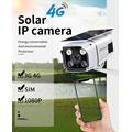 4G Security Camera Solar IP Camera 1080P