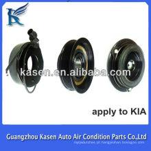 Para kia 12v 6pk HCC carro ac compressor embreagem