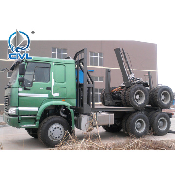 Camion porteur de grumes HOWO 6x4 Timber Transport Truck