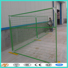 Canada standard 2.1x2.4M temporary free standing fence panels