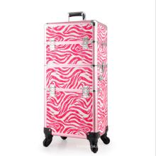 Die rosa Leder Kosmetiktasche (hx-q072)