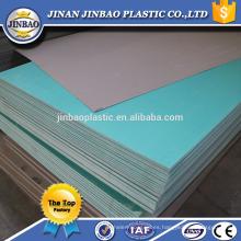 venta directa de la fábrica hoja delgada de plástico rígido del pvc del tablero duro de 1.8mm 2mm