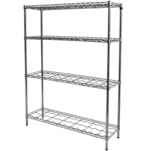 Factory directly selling metal wire shelf chrome wire shelf rack metal wire shelf rack