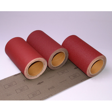Wood Grinding Aluminum Oxide Abrasive Cloth 3677