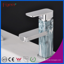 Fyeer Chrome Plated Lacquered Single Handle Brass Basin Faucet Bathroom Sink Water Mixer Tap Wasserhahn