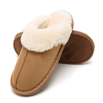 Indoor Plush Women's Slippers