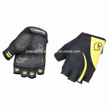 Cycling Half Finger Sports Bike Bicycle Cycle Sports Equipment Glove with Buckle Gel Padding Sports Wear Jl09c08