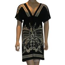 Venta caliente y ropa de alta calidad en 2015 señoras y las mujeres moda envuelto vestido sexy