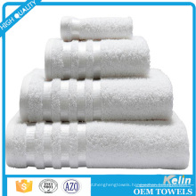 China supplier 100 cotton white hotel pool towels for 5 star hotel