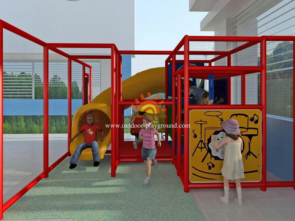 High Quality Eco Friendly Kid Amusement Outdoor Play Structures