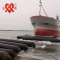 La haute flottabilité et haute performance SGS CCS CCC certification en caoutchouc airbag pour le lancement et le levage de navires