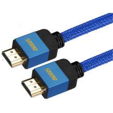 Câble HDMI de moulage d'alliage d'Aluimum (1.4V, 3D, 4K)