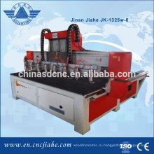 Эффективное Китай фабрика 8 главы древесины cnc маршрутизатор цены