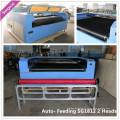 Twin Head Roll to Roll Machine de gravure laser Syngood 1300X2500mm 1500x3000mm 1800x1200mm 1800x3000mm