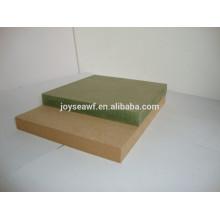 MR (Moisture Resistant) MDF для продажи / Водонепроницаемые плиты MDF