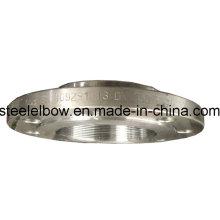Flange de aço forjado Thread de carbono