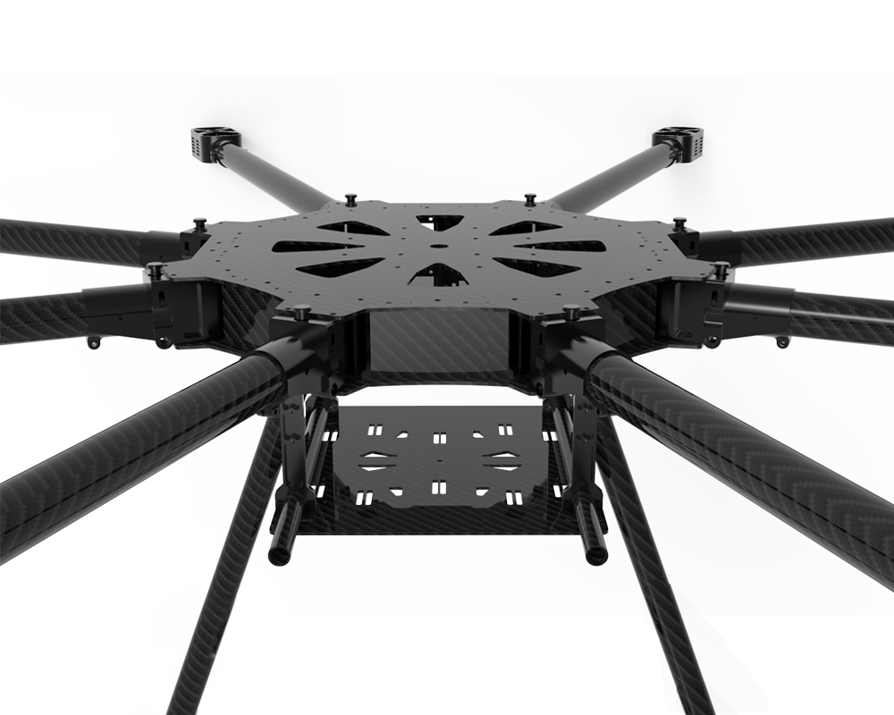 JMRRC-O1300mm Ultra-lightweight carbon fiber heavy-lift drone frame