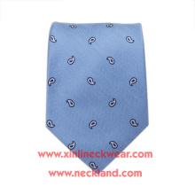 Corbata tejida hecha a mano del negocio del telar jacquar 100% de seda