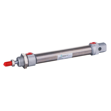 "Stainless Steel Mini Cylinder 25X150-S G1/8"" Pneumatic"