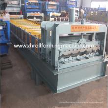 Профилегибочная машина для производства листовой глазурованной плитки с возможностью горячей замены (XH1000)