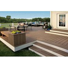 Hot Sale Solid Wood Plastic Composite WPC Decking Lamminate Flooring