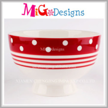 Hot Sales Ceramic Candy Bowl with Painting