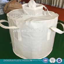 ton bag - saco de cilindro fibc para saco de 600 kg com forro PE dentro