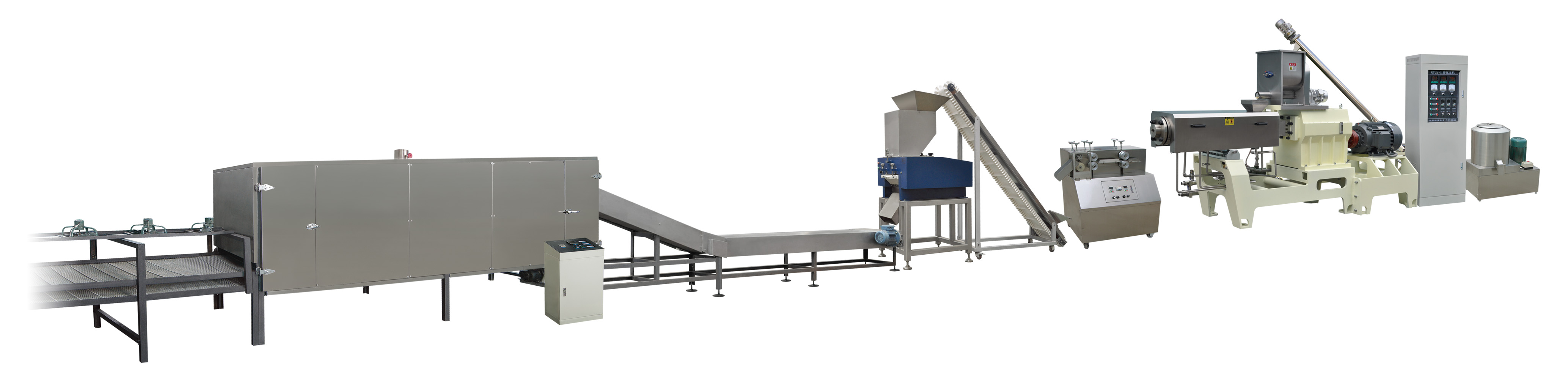 Stainless steel ce certificate bread crumb production line
